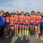 Olentangy Orange High School Girls Varsity Cross Country finishes 5th place