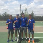 Boys Varsity Tennis finishes 1st place at Sectional Tennis Tournament