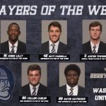 Falcon Class of 2016, Cullen Carlin, Player of the Week from Berry College