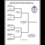 Falcon Girls Tennis Opens State Play-offs on Monday