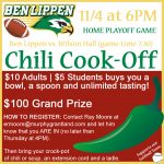 Second Ben Lippen Chili Cook-Off Fundraiser