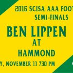 Important Ben Lippen at Hammond Football Play-off Game Information