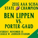 SCISA AAA Football State Championship Game Information