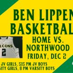 Falcon Basketball Home Friday vs. Northwood