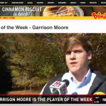 Falcon Garrison Moore Named @WLTX Player of the Week Presented by: @ItsBoTimeSC