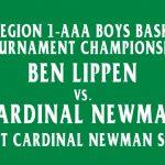 Falcons Boys JV Basketball Play in Region 1-AAA SCISA Tournament Championship Tonight