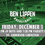Falcon Boys Basketball Host Anderson Christian Tonight