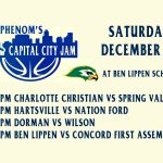 Ben Lippen Basketball to Host Phenom's Capital City Jam on Saturday, Dec 16