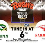 Falcon Basketball Plays at Hammond in the Rush's High School Hoops Showcase
