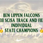 2018 Ben Lippen SCISA Track and Field Individual State Champions