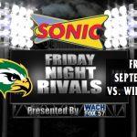 Falcon Football vs. Wilson Hall – Sonic Friday Night Rivals Presented by WACH Fox