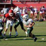 MS & JV Football at Hammond