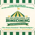 2018 Ben Lippen Homecoming on Friday, Sept 28
