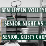 Falcon Volleyball Senior Night Monday vs. PAC