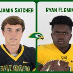 Falcons Satcher and Fleming Earn SCISA North-South Football Game Invite
