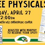 Ben Lippen School FREE Physicals by Palmetto Health USC Orthopedic Center