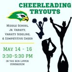 2019-2020 Ben Lippen Cheerleading Parents Information