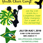 2019 Ben Lippen Youth Cheer Camp