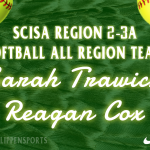 Falcons Cox and Trawick Earn Softball All-Region Honors