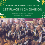 Competitive Cheer Wins First Competition!