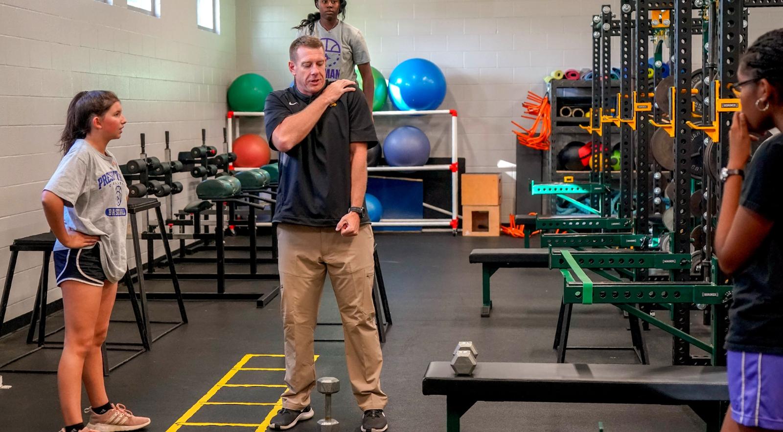 Brandon Spence, Head of Strength & Conditioning Program