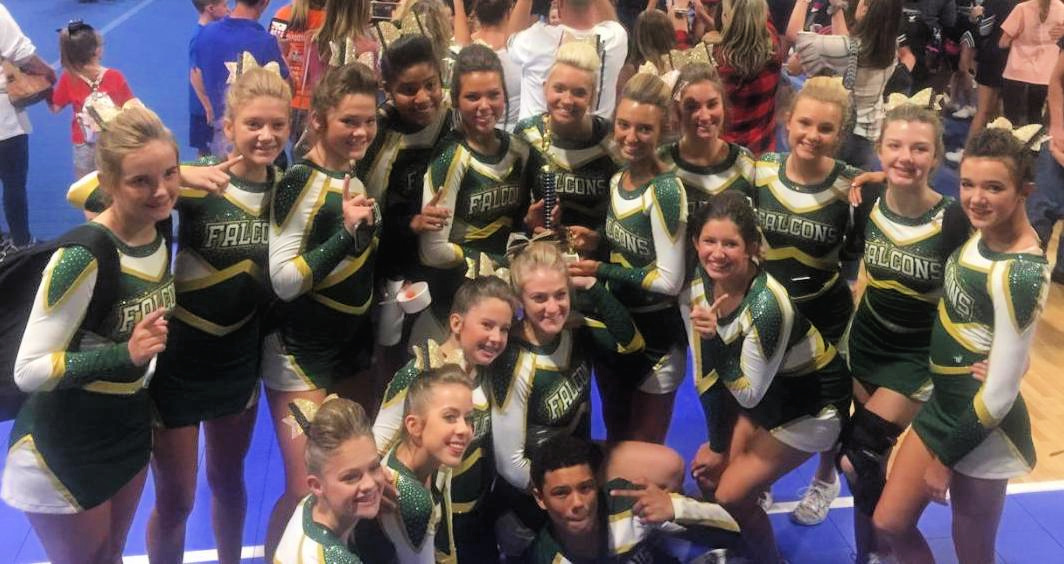 Competitive Cheer Takes 2nd in State!!!
