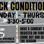 Track Conditioning Information