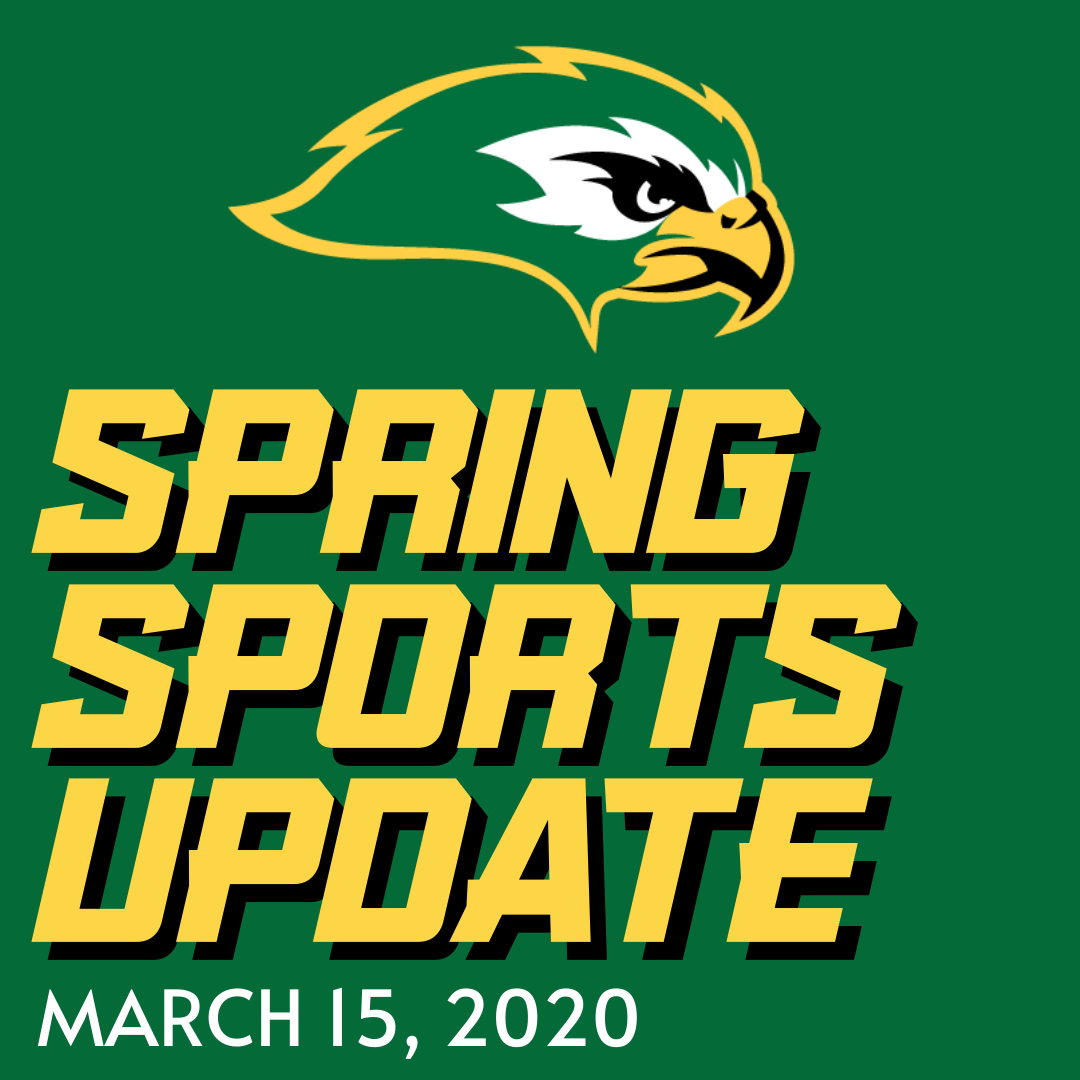 Spring Sports Athletic Update