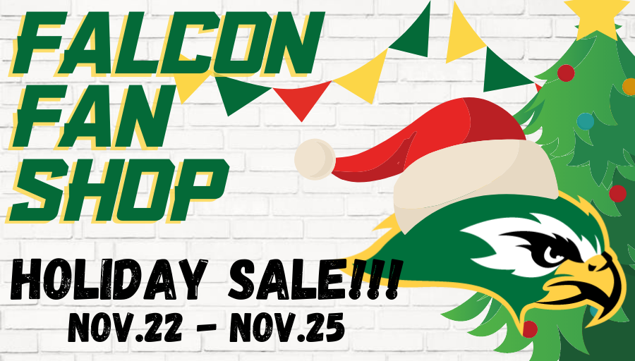 HOLIDAY SALE AT THE FALCON FAN SHOP