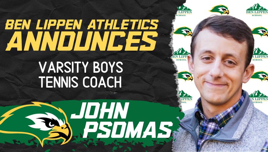 Coach John Psomas named Varsity Boys Tennis Coach