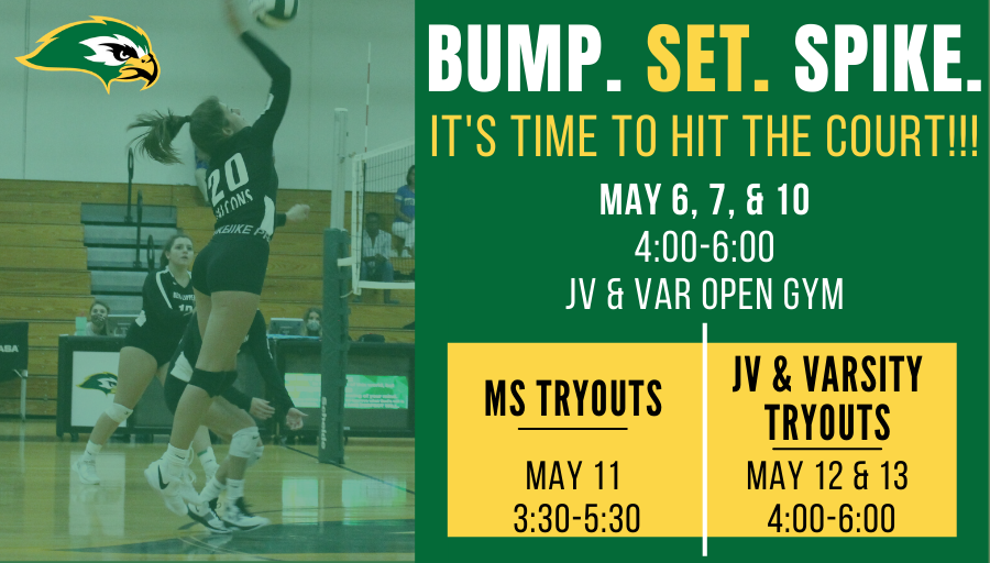 2021 Volleyball Tryouts