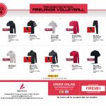 Falcon Volleyball Apparel Shop Open