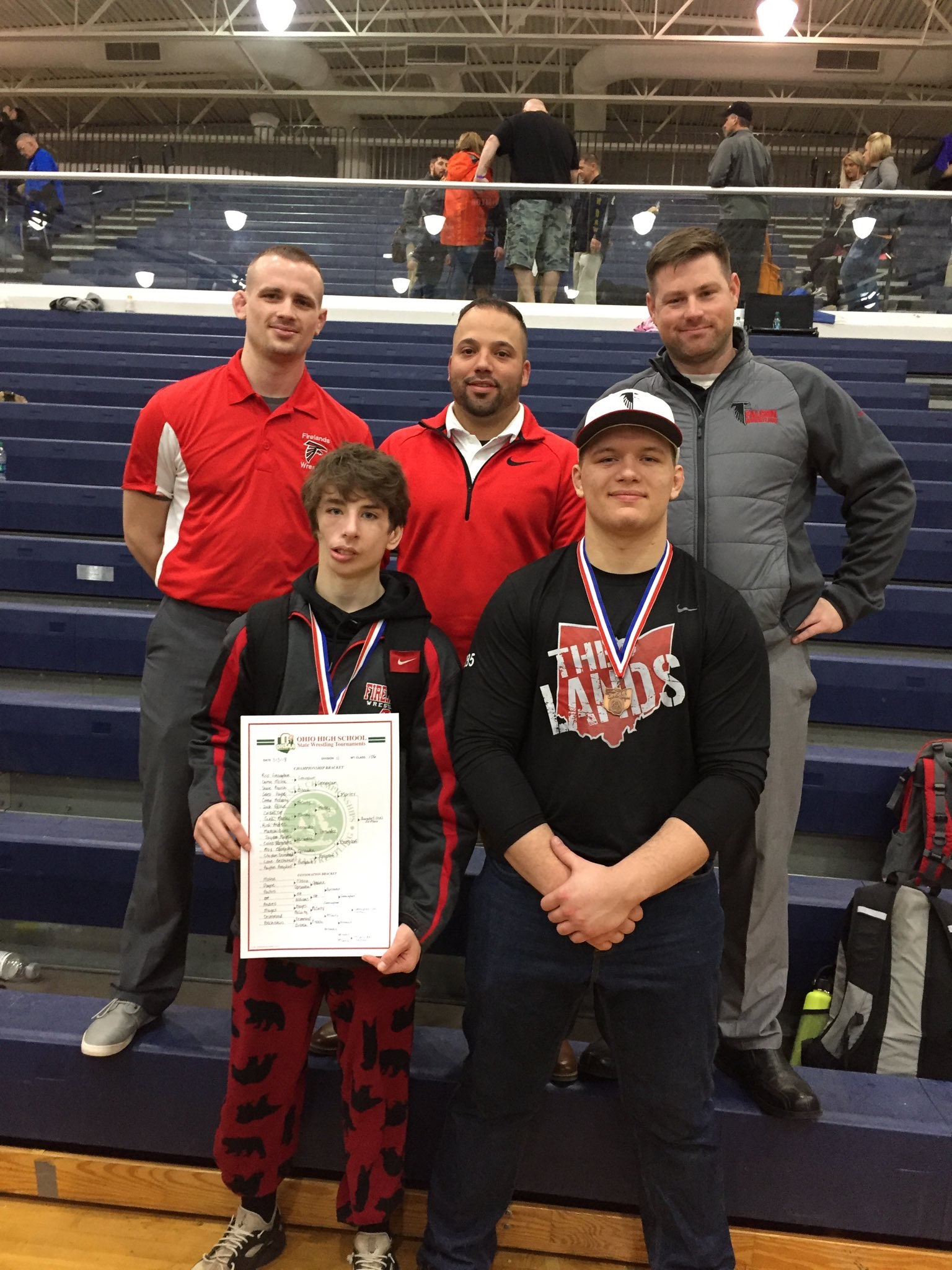 Falcons Qualify a School Record '2' for the State Tournament