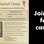 Volleyball Summer Camp for Grades 3-8