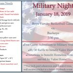 Military Night Jan. 18th vs Buckeye