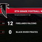 8th Grade Football stays Unbeaten