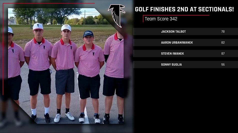 Golf Team Advances to Districts!