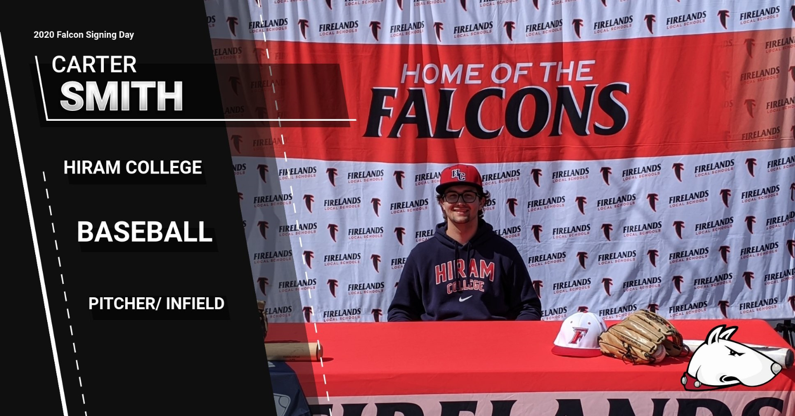 Next Level Falcon- Carter Smith- Hiram College- Baseball