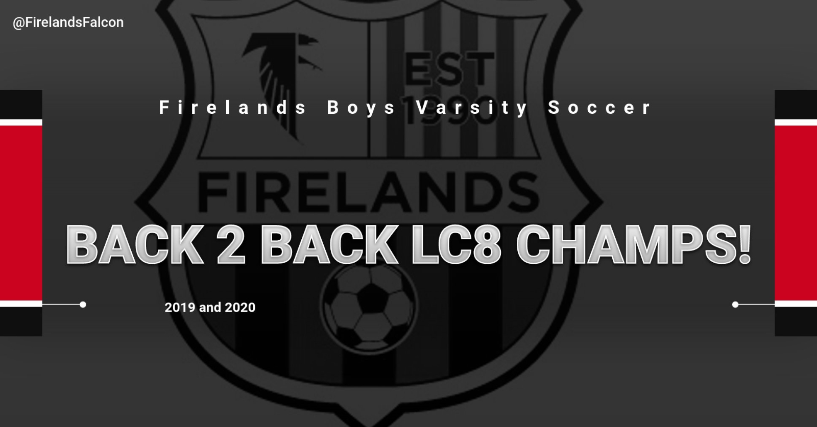Boys Soccer wins Back to Back LC8 Championship