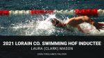 2006 Graduate Laura Clark inducted in Lorain County Swimming HOF