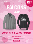 2 Days Valentine's Day Sale at Sideline Store 2/5 and 2/6