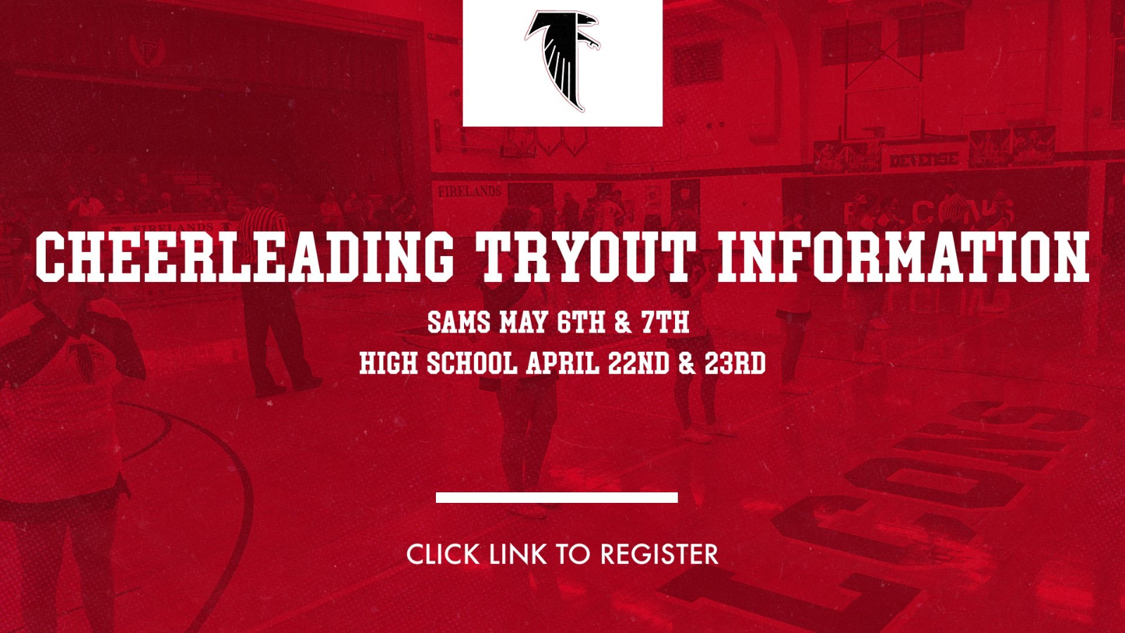 Cheerleading Tryout Information- Middle School and High School