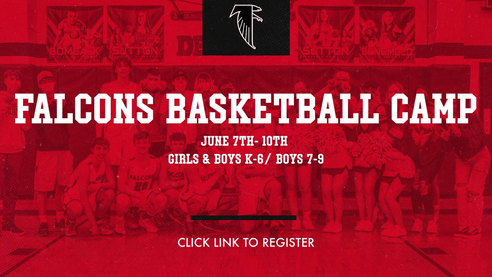 Falcons Basketball Camp Registration