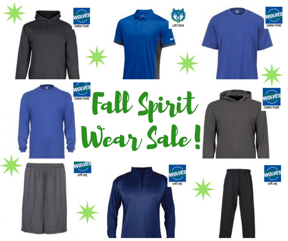 PCRHS Spirit Wear Sale