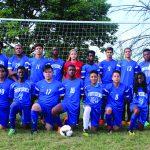 2017-18 Co-ed Varsity Soccer Team Photo