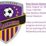 Boys Soccer Alumni Game '17