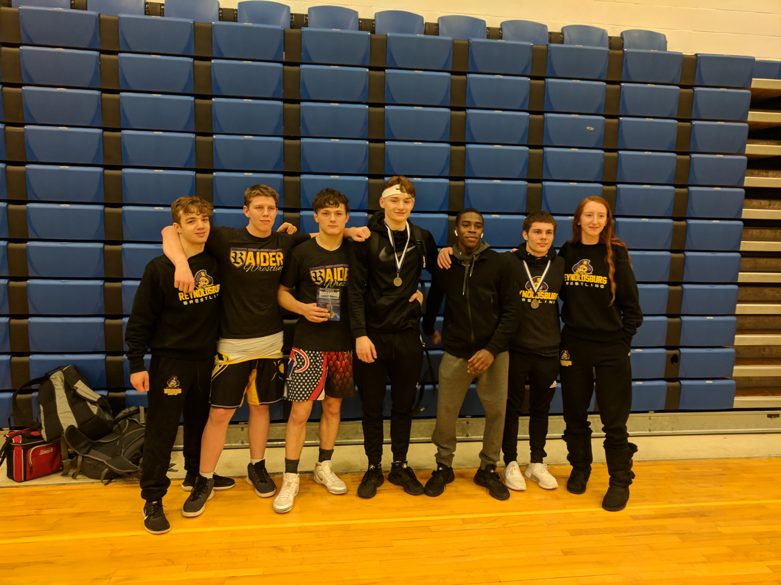 7 wrestlers place at Xenia Invitational