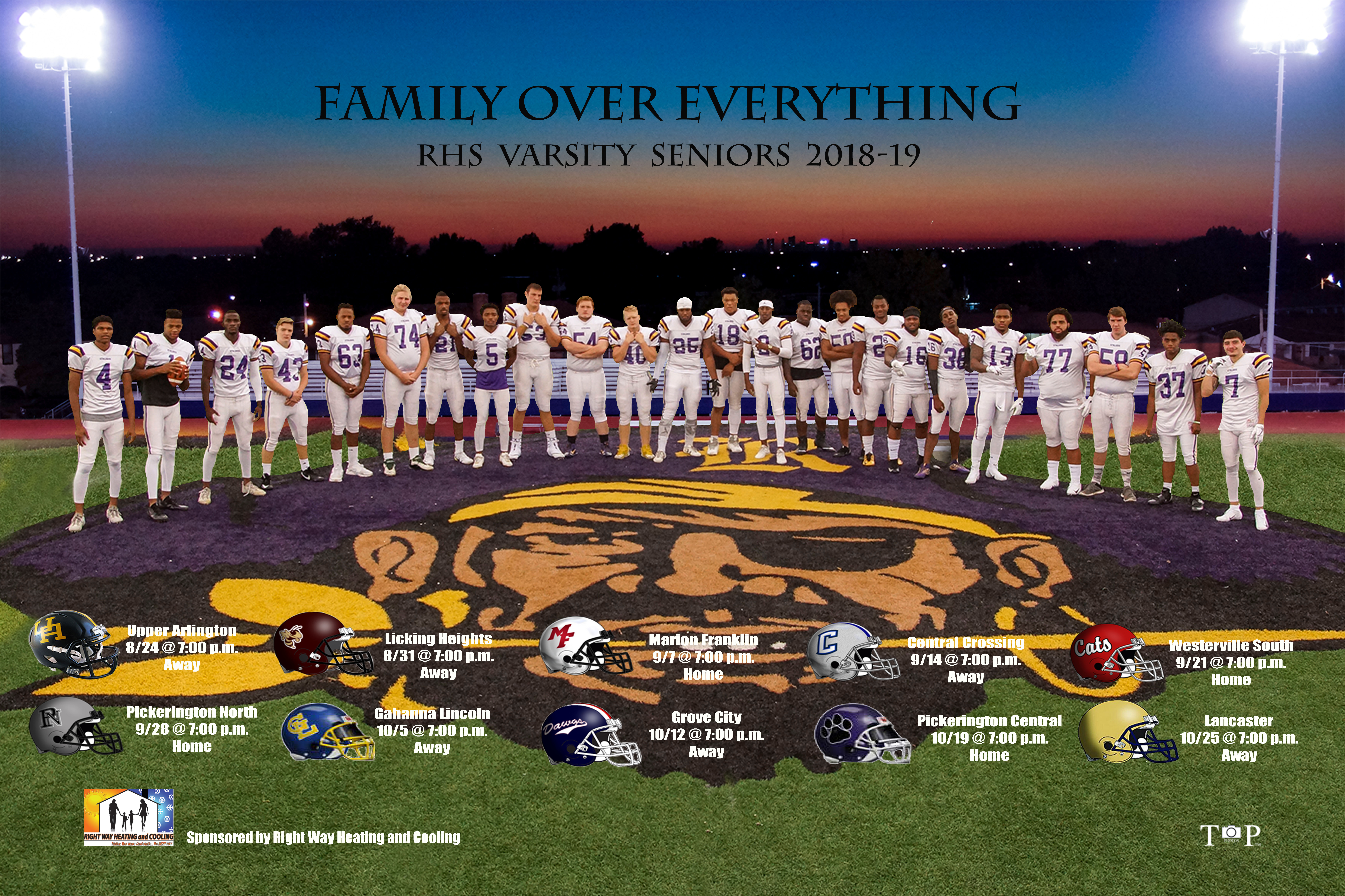 Raider Football rewrote the history books in 2018