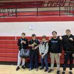 5 wrestlers place at Logan Elm