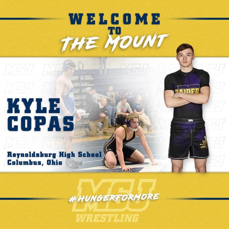 Kyle Copas Commits to Mount St Joseph